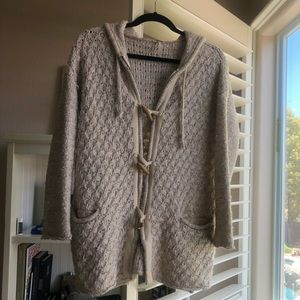 free People: sweater/ zip up